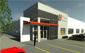 Standex 3 Rendering 3D View Front Entry
