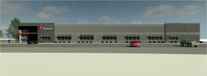 Michael Lichtenberg - Standex Building Project Rendering Front Center